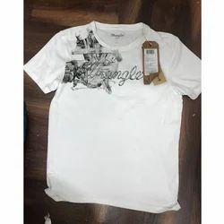 Half sleeve Cotton Men Printed Round Neck T Shirts