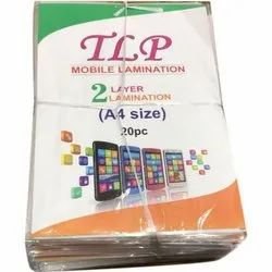 Mobile Lamination 2 layer A4 size Film