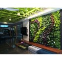 Plastic Elen Artificial 1 X 1 M Vertical Wall For Decoration