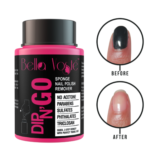 Bella Voste Pink Dip N Go Nail Polish Remover For Personal Parlour Id 20349952648