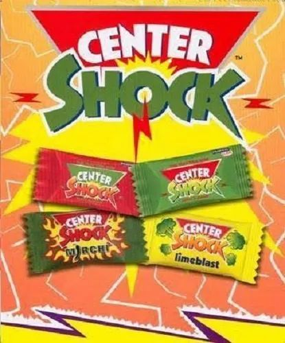 Gum White center shock