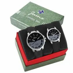 Jainx Multi Color Dial Analog Couple Watch JC461
