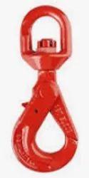 Grade 80 European Type Swivel Self Locking Hook
