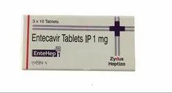 Entehep 0.5 Mg Entecavir Tablet, Prescription, Treatment: Cancer