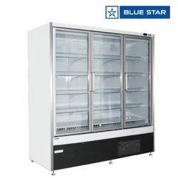 Blue Star 248 Kgs Koral Open Freezer With Glass Door KORAL12FGDP