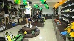 Sports Showroom Design