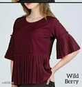 Women Wild Berry Top