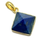 Lapis Collate Set Pendant