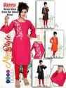 Rayon Full Bell Sleeves Kurti