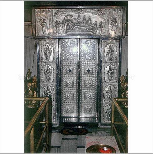 Silver Plated Door