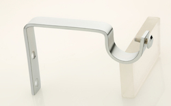 Silver Curtain Support