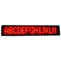Single Line Scrolling LED Display