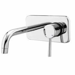 Brass Single Lever Basin Mixer Wall Mounted