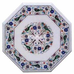 Multicolor Marble Dishware Handicraft