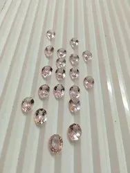 Pink Morganite Calibrated Gemstones