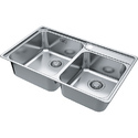 European Satin Finish Kitchen Sink Frame BCX 620-38/32
