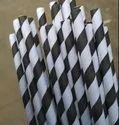 Plain Paper Wrapped Straw