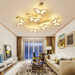 Butterfly-Shaped Dimming Chandelier