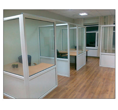 Aluminum Partition Fabrication Service