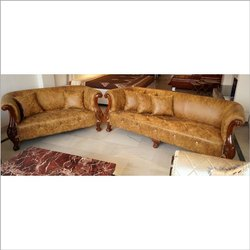 Brown Color Sofa Set