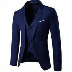 Mens Cotton Designer Slim Fit Blazer