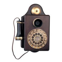 Antique Replica Wooden Wall Phone