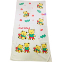 Cotton Teddy Printed Towel, Size: 28-100 Cm