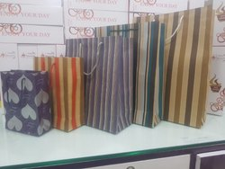 Brown Hard Paper Paper Bags, For Grocery, Capacity: 1kg