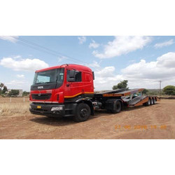 3 Axle Chassis Carrier Trailer