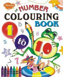 Number Coloring Book