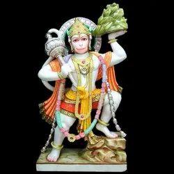 HU-0017 Hanuman Marble Murti