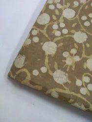 Dabu Block Print Batik Print Fabric