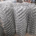 Silver Stainless Steel Ss304 Chain Link Fencing, Packaging Type: Roll