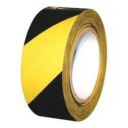 Yellow & Black Safety Tape