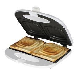 Stainless Steel Black Sandwich Toaster for Home