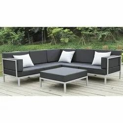 Stainless Steel,Leather Maxx Furniture Leather Sofa Set, For Home,Hotel