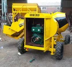 3 Bin Diesel Engine Operated Hydraulic Hopper Concrete Mixer