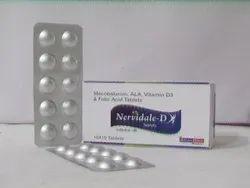 Nervidale-d  Mecobalamin,Alpha Lipoic Acid,Vit B6, Folic Acid & Vit D3