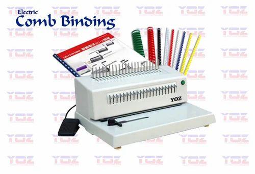 JAIMINI Automatic And Semi-Automatic Electric Comb Binder