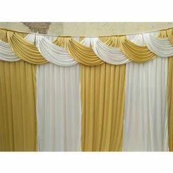 Plain Wedding Curtains
