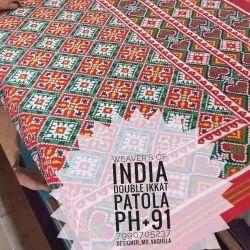 Heritage Double Ikkat Patan Patola Handloom