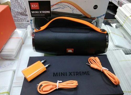Jbl Black And Orenge K5 Mini Xtreme Speakers Black Rs 2100 Piece