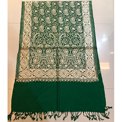 Green Pashmina Ladies Stole