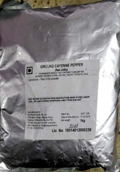 MIDAS CAYENNE PEPPER POWDER, Packaging: Packet