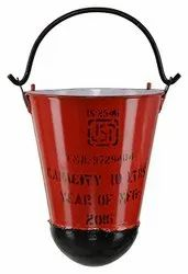 ISI Marked Fire Bucket