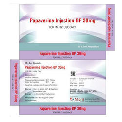 Papaverine Injection BP 30mg