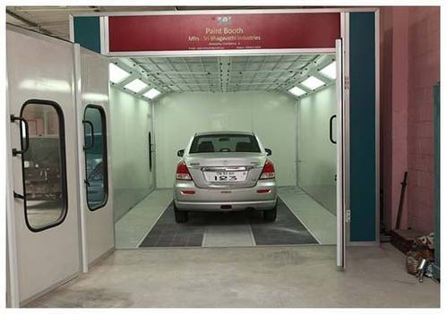 automobile paint booth car paint booth manufacturer  coimbatore