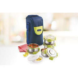 Clip Lock Stainless Steel Lunch Box