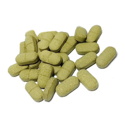 Greenish Moringa Tablets, For Herbal, Grade Standard: Food Grade