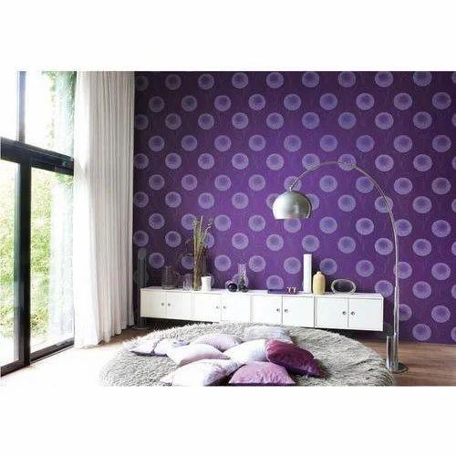 PVC Printed Designer Wallpaper